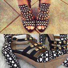 Zara Synthetic Leather Heels for Women