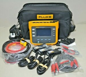Fluke 1730 Three-Phase Electrical Energy Power Logger w/ iFlex Probes and Clamps