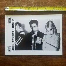 ATARI TEENAGE RIOT publicity press PHOTO (5 X 7 inches) Grand Royal ALEC EMPIRE