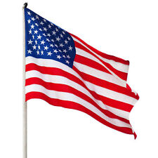Jumbo 3'x5' Ft Polyester American Flag Usa Us Be Proud&Show off Your Patrioti Cd