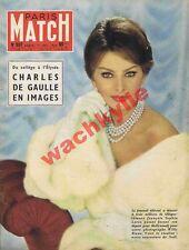 Paris Match n°507 du 27/12/1958 Sophia Loren Maria Callas Berlin De Gaulle