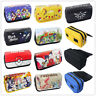 Anime Stationery Box Cosmetic Brush Pen Bag Canvas Pencil Case Travel Pouch New