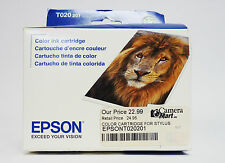 Epson Color Ink Cartridge T020201 for Stylus 880, 880i, 8 Expired 10/2014