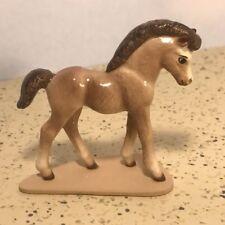 Hagen Renaker Porcelain Vintage Model Horse Figurine Statue Trojan Pony Mare Usa