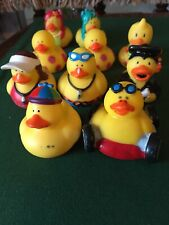 2 Mermaid, 3 Flowered, 2 Lifeguard, 1 Graduate, 2 Playtime Rubber Ducks