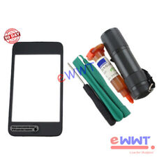 Front Screen LCD * Digitizer with Frame+UV Glue for iPod Touch 3rd Gen 3 ZVLT192