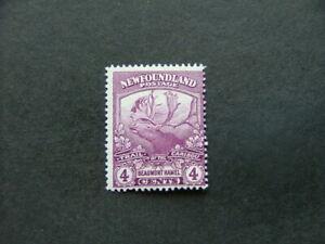 Newfoundland 1919 4c purple SG133a MM
