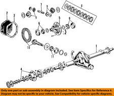FORD OEM E-350 Econoline Club Wagon Rear Differential-Pinion Bearings 4C2Z4630BA