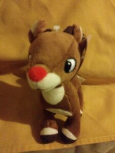 """Rudolph The Red Nosed Reindeer Rudolph Plush Doll 7"""""""