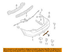 Lincoln FORD OEM 07-12 MKZ-Bumper Trim-Reflector Left 6H6Z15A449AAPTM