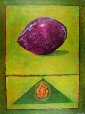 Madjid Prune Poster Art Imprimé Image 80x60cm