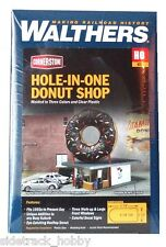 HO Scale Walthers Cornerstone 933-3768 Hole-In-One Donut Shop Building Kit