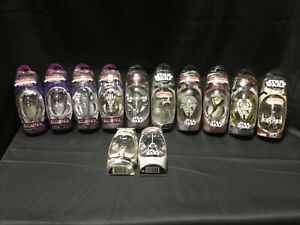 Lot of (12) Star Wars / Battlestar Galactica Titanium Die-Cast Micro Machines