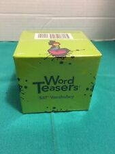 Word Teasers Sat Vocabulary Game
