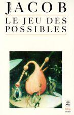 Le jeu des possibles // François JACOB // Réflexion sur la science // Essai