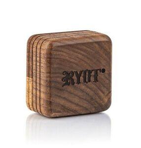 RYOT 1905 Walnut Wood 2 Piece Grinder - Slim Style - USA DEALER