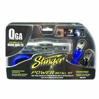 0 Gauge High Quality Tru Spec Power Amp Install Kit Wire 4000 Watts Accessory