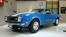 G LGB 1:24 Echelle 1968 Chevrolet Camaro Z28 22448 Très détaillé Welly