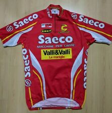 VINTAGE CANNONDALE SAECO CYCLING JERSEY MENS SIZE L
