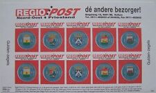 Stadspost Kollum Regio Post 1996 - Velletje Guldenzegels ongetand