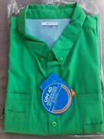 NWT Columbia Big & Tall PFG Tamiami II Short Sleeve Shirt Size 2X/3X/4X UPF 40