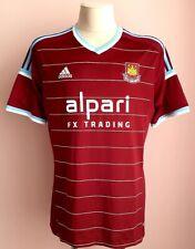 West Ham United 2014 - 2015 Home football Adidas shirt size XL