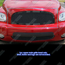 Fits 2006-2011 Chevy HHR Black Stainless Steel Mesh Grille Grill Insert