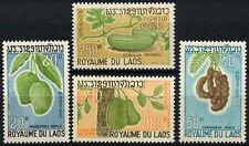 Laos 1968 SG#248-251 Fruits MNH Set #D58934