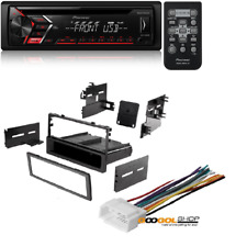 Pioneer Single DIN CD MP3 Player For Android MIXTRAX USB AUX W/ Stereo Dash Kit