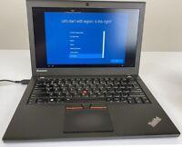 "Lenovo ThinkPad X250 12.5"" Core i5-5300U@2.30GHz 8GB RAM 512GB SSD Wind10 Pro"