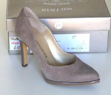 Peter Kaiser Block Heel Court Shoes Pastell Suede UK 7