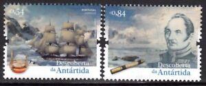 PORTUGAL 2021 DISCOVERY ANTARCTICA BELLINGHAUSEN EXPLORERS SHIP MAP [#2107]