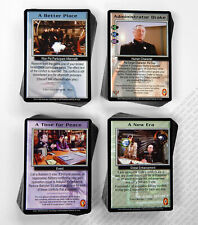 Babylon 5 CCG Psi-Corps Complete Set of 196 Cards 50 Rare M/NM Mint/Near Mint