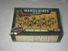 Warhammer 40,000 - Space Ork Boyz - Battle Squad - Boxed Figurines Set + Book