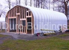 DuroSPAN Steel 32'x50'x18' Metal Man Cave She Shed Building Kit Open Ends DiRECT