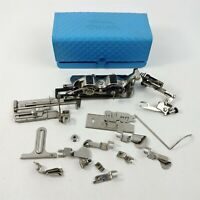 Singer Sewing Machine Attachments Lot - Miscellaneous Items + Buttonhole Worker