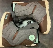 New listing ThirtyTwo Womens Lashed Double Boa Snowboard Boot - Size 7.5