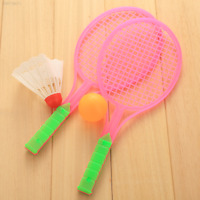 5885 Badminton Table Tennis Outdoor Sports Family Game Boys Plastic Toy Rackets