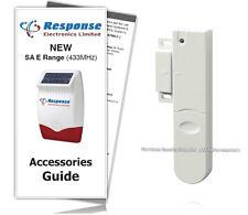 Response Alarms Door Window Contact Detector 433MHz SA E Range (GUIDE INCLUDED)
