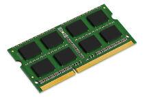 Kingston DDR3 PC3-12800 1600 MHz SO-DIMM CL11 singolo canale Kit da 8GB (1x8GB)