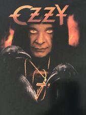 Ozzy Osbourne Shirt Men's Large Heavy Metal Black Sabbath *Rare!*