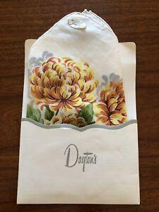 Burmel vintage cotton ladies handkerchief with Dayton's Department Store sleeve