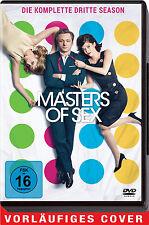 4 DVDs * MASTERS OF SEX - DIE KOMPLETTE SEASON / STAFFEL 3 # NEU OVP <