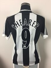 SHEARER #9 Newcastle United Home Football Shirt 2001-2003 (M)