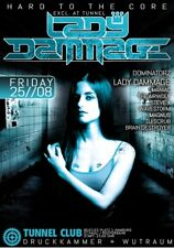 TUNNEL Poster A1 - Motiv: LADY DAMMAGE - HARD TO THE CORE