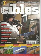 CIBLES N°487 RUGER LCP EN 9MM COURT / SIG-SAUER CONVERSIONS 22LR / FPK ROUMAIN
