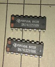 2x  SN74LS259N 8-BIT ADDRESSABLE LATCH DIP16 -   Texas Instruments
