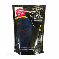 DYLON® - 400g WASH & DYE & 350g Velvet Black - Machine Wash - Clothes Fabric Dye