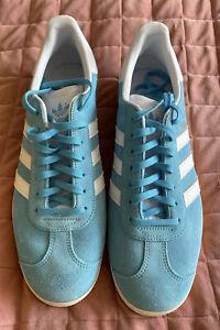 Size UK 10 - adidas Gazelle Blue