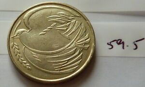 1995 Royal Mint FIFTY YEARS OF PEACE DOVE TWO POUND (£2) COIN (#59.5)